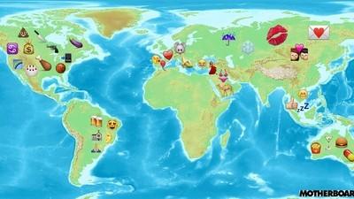 Kartografiert: Welche Emojis sind in welchen Ländern am beliebtesten?