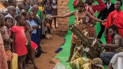 Luces, cámara y ¡acción en Uganda!