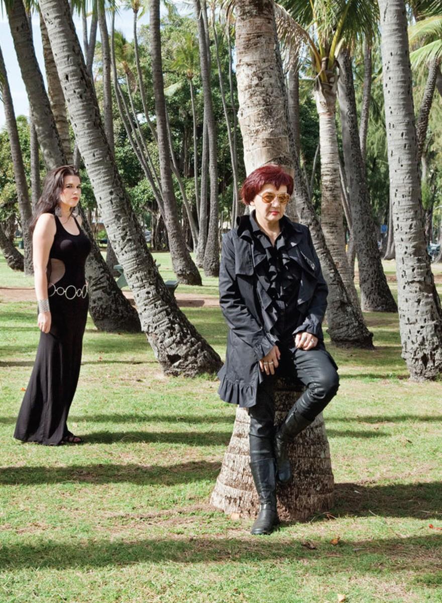 Es gibt kaum Goths auf Hawaii