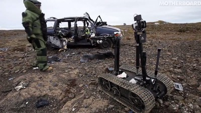 Defusing Roadside Bombs with Robots