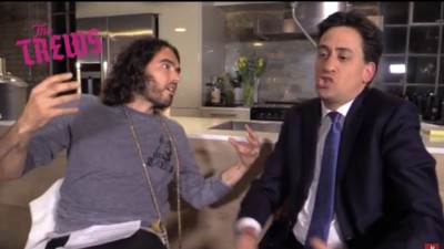 Comparing the Revolutionary Rhetoric of Russell Brand and Labour Leader Ed Miliband