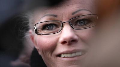 Kathrin Oertels Entschuldigung an die Muslime ist so aufgesetzt wie ihre Augenbrauen