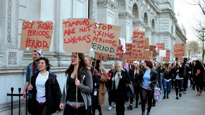 Why Is the British Government Taxing Periods?