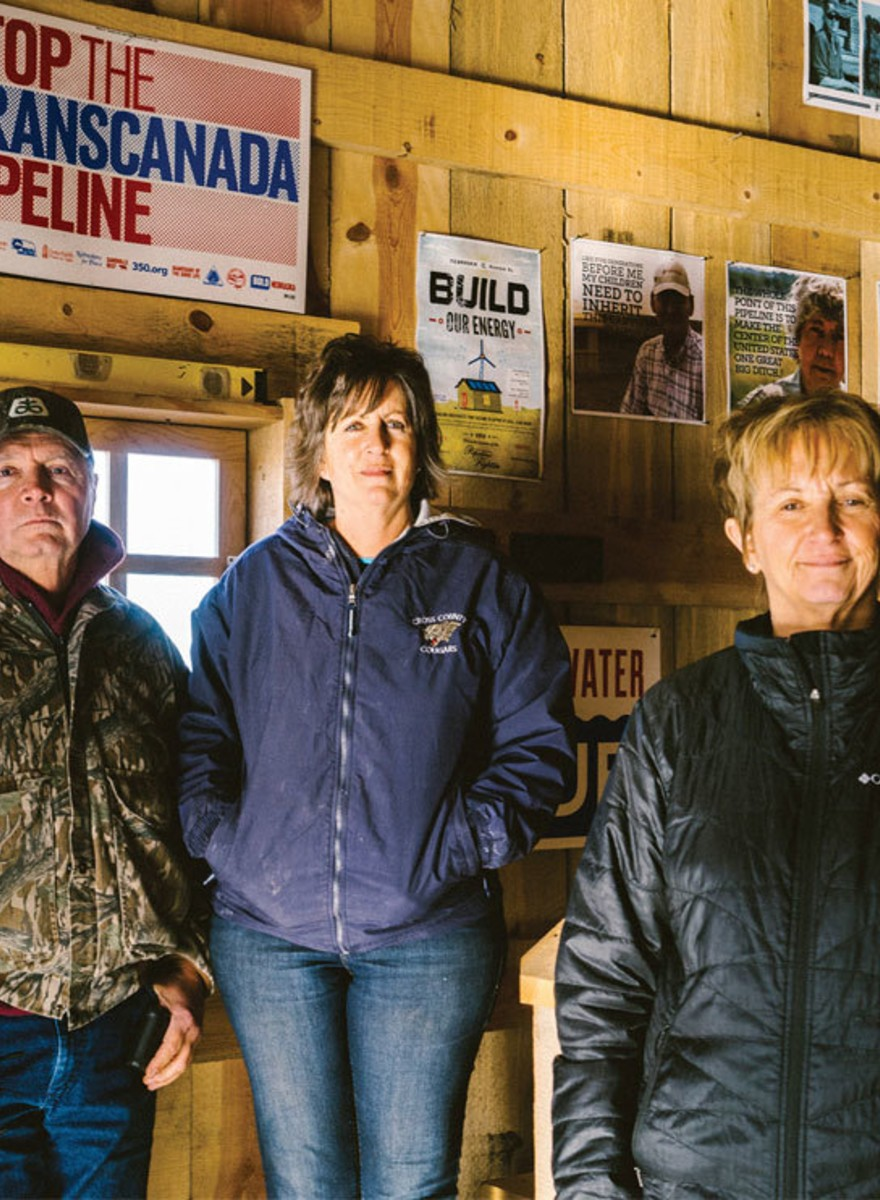 Photos of the People in the Path of the Keystone XL Pipeline