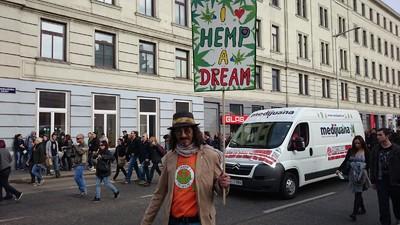 Der Hanfwandertag in Wien