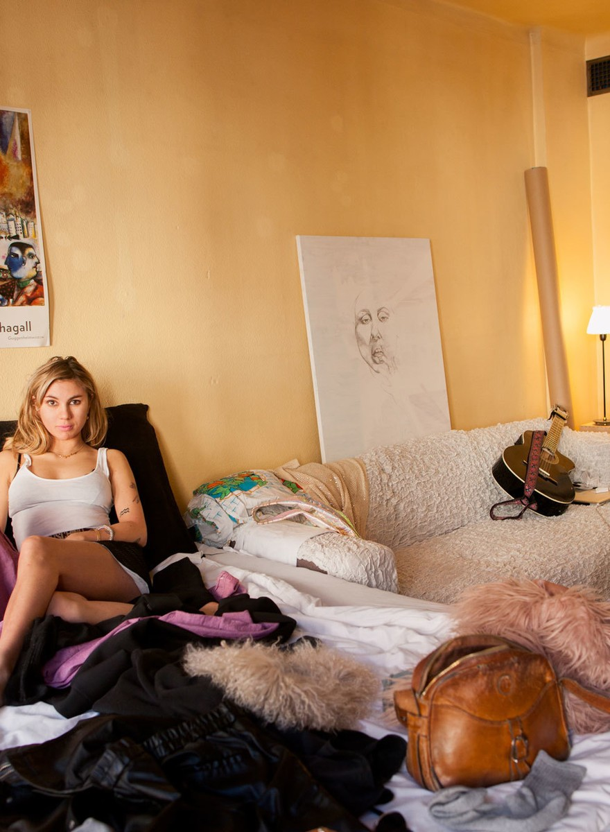 Foto delle case di giovani svedesi che vivono da sole