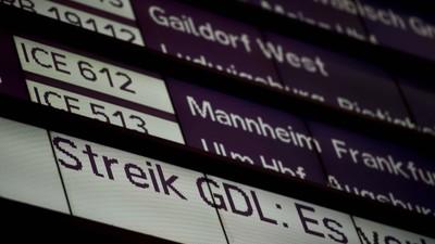 Warum der Bahnstreik die deutsche Wirtschaft kaum treffen wird