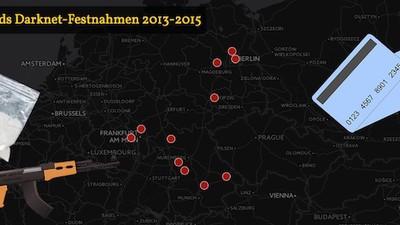 Kartografiert: Deutschlands Darknet-Festnahmen im Überblick