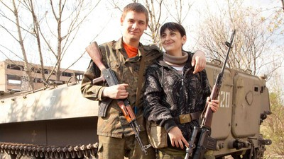 ​Love on the Battlefield of Eastern Ukraine