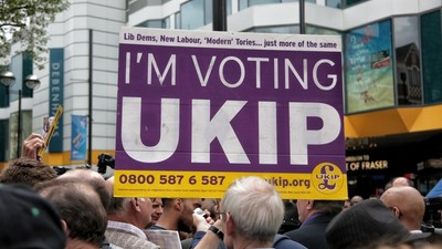 A Company Called 'UKIP Media Events' Has Been Getting Angry Phone Calls from People Who Hate Nigel Farage