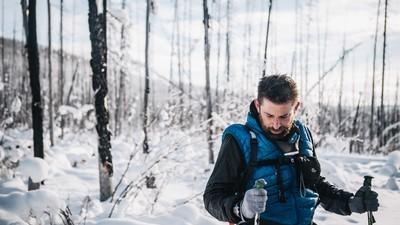 Warum läuft dieser BKA-Mann 700 Kilometer durch die Eiswüste?