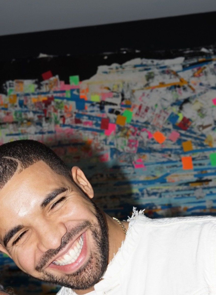 Here Are Photos of Drake's First Art Exhibition
