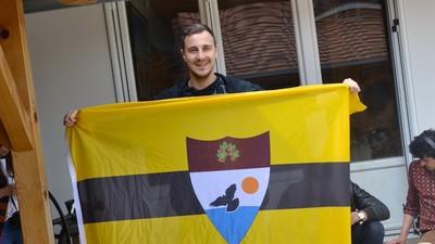 We probeerden de Dag van de Arbeid in Liberland te vieren