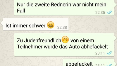 """""""Bei euch darf ich wenigstens den Holocaust leugnen"""" – Handy von Leipziger Neonazi gehackt"""