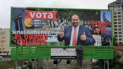 Empleo, igualdad y chicas desnudas: El Príncipe de los Gitanos se presenta a alcalde de Vigo