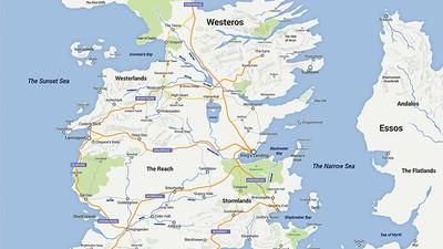 Reist per Google Maps durch die Welt von 'Game of Thrones'