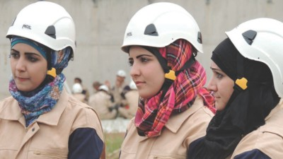 Las mujeres paramédicos de Siria