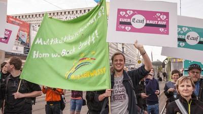 Pegida hat in Magdeburg Spenden für einen Moschee gesammelt – unfreiwillig