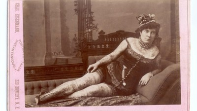 The History of Tattooed Ladies from Freakshows to Reality TV