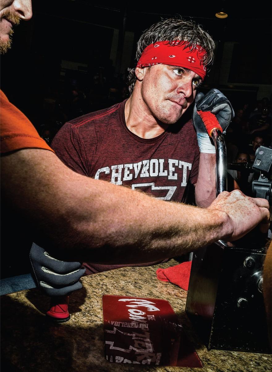 La musculosa feria de Iowa: profesionales de vencidas