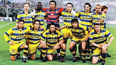 Parma sul tetto d'Europa