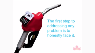 The Lawyer Who Wants to Put Climate Change Warnings on Gas Pumps