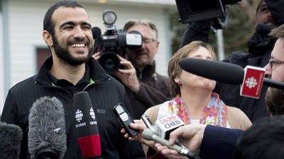 Nearly Half of Canadians Are Fine with Omar Khadr's Bail, but Not Many Like Him
