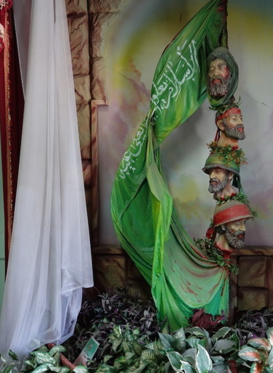 De voormalige Amerikaanse ambassade in Iran is nu een anti-Amerikaans museum