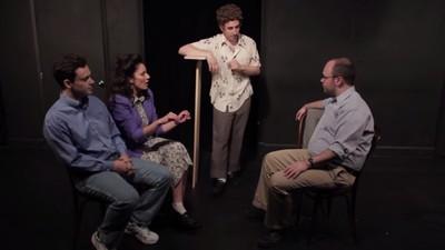 Un grupo de cómicos representó un episodio nuevo de 'Seinfeld'