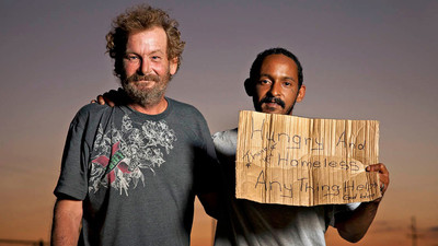 How Cardboard Signs Changed the Face of Panhandling in America