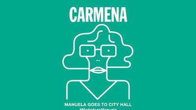 Hablamos con los cartelistas voluntarios de Manuela Carmena