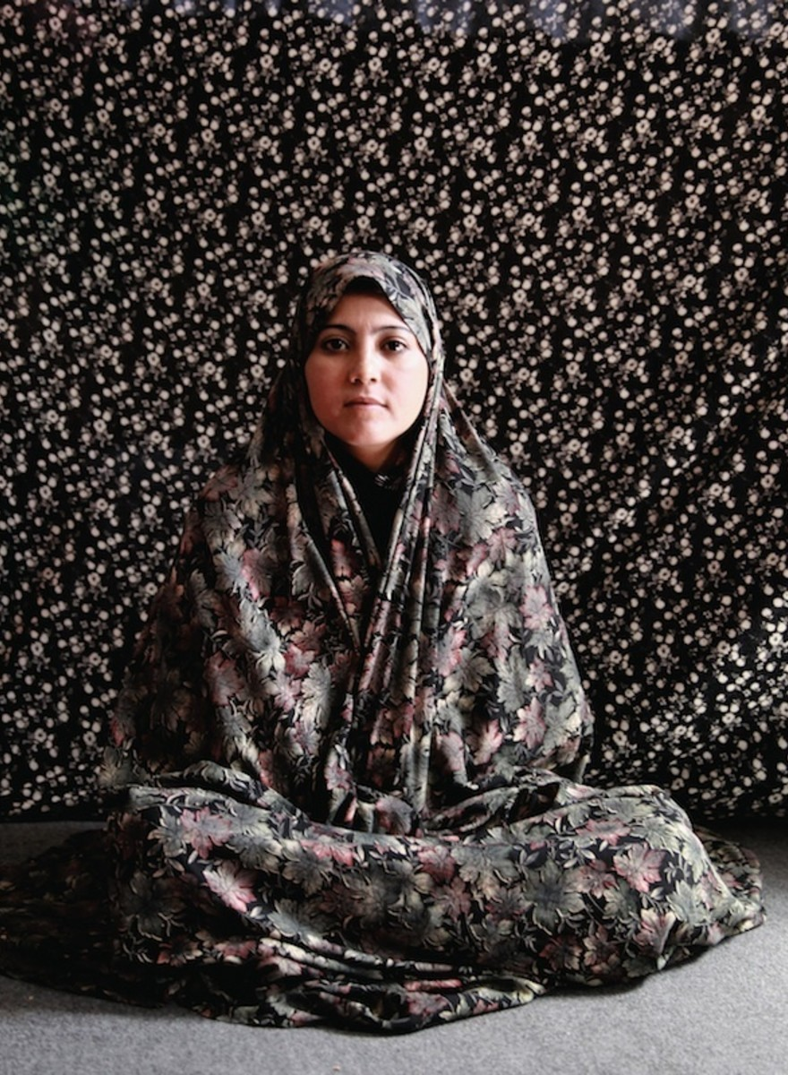 Portraits of Afghan Women Imprisoned for 'Moral Crimes'