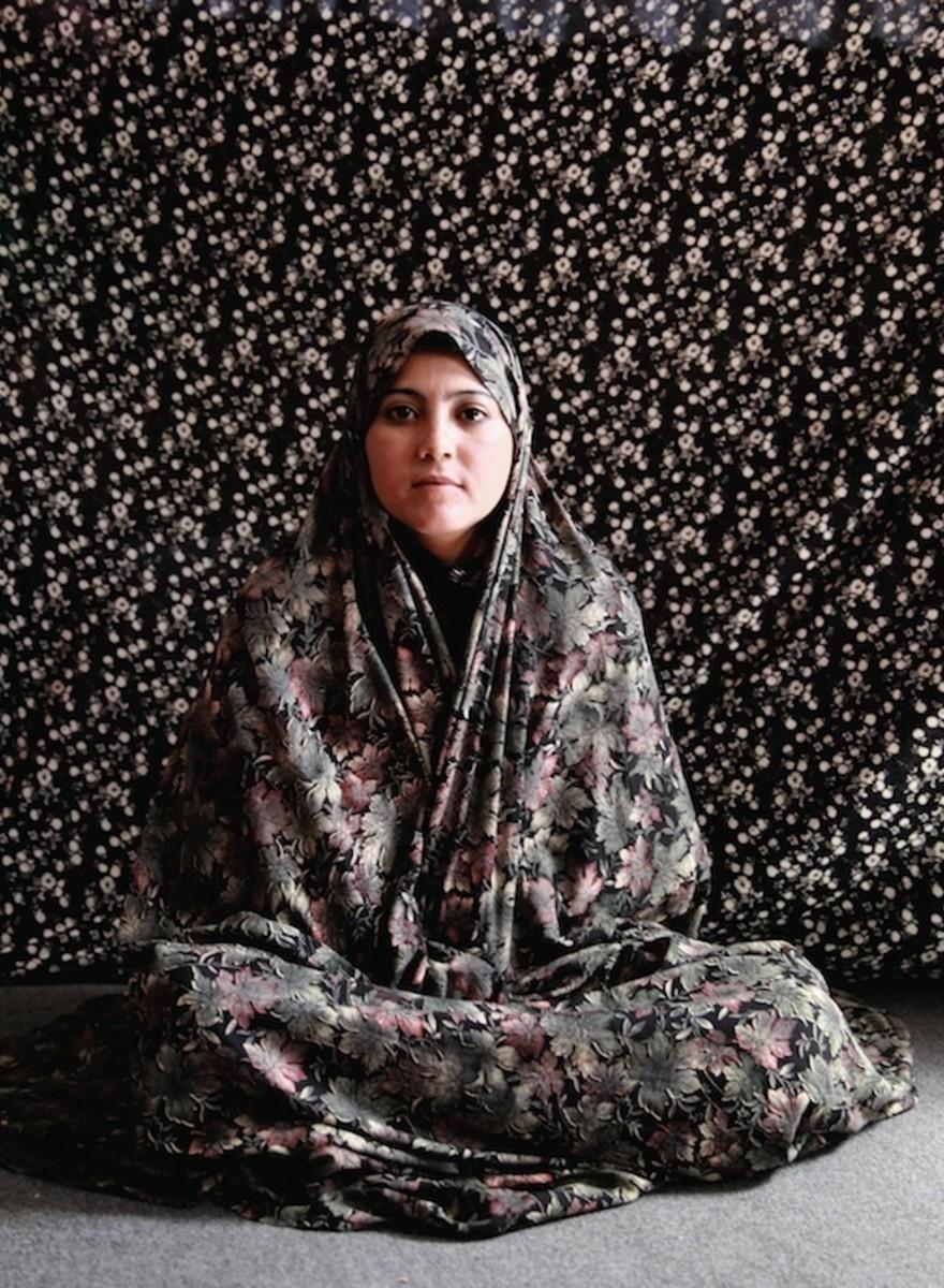Retratos de mujeres afganas encarceladas por 'delitos contra la moral'