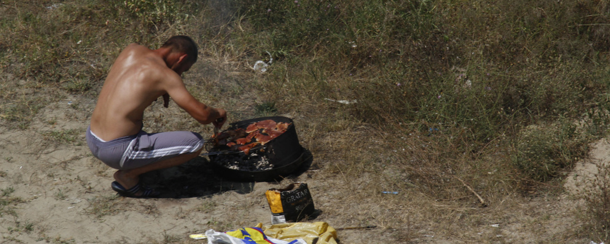 Romania's Roadside Barbecues