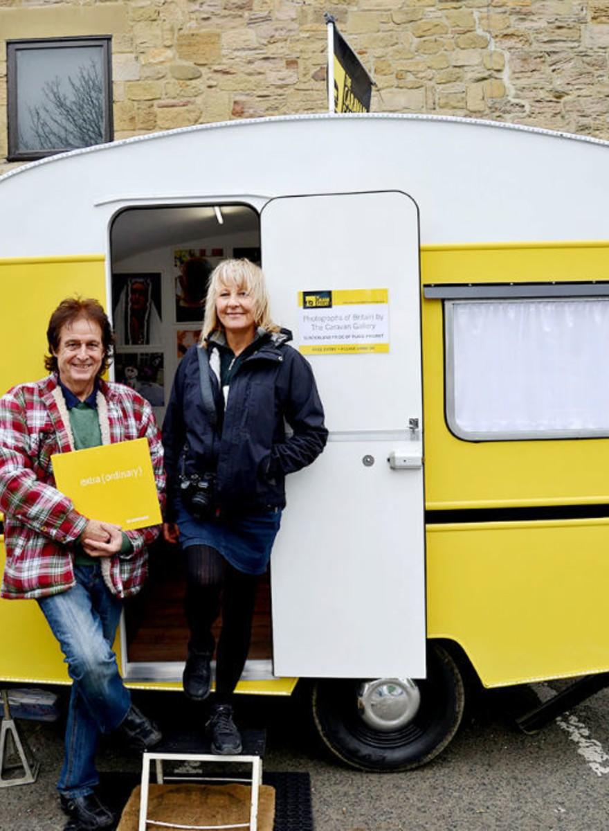 The Caravan Gallery: una mirada a la Inglaterra olvidada