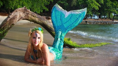 The Perks of Being a Professional Mermaid