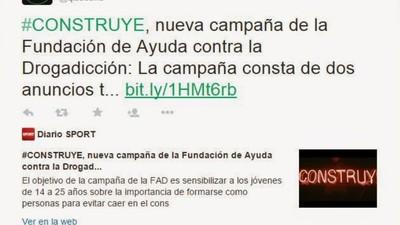 La Fundación de Ayuda contra la Drogadicción utilizó 170 cuentas falsas de Twitter para apoyar su nueva campaña