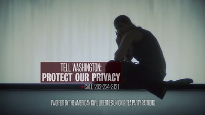 Watch the ACLU and Tea Party's New Anti-Patriot Act Ad