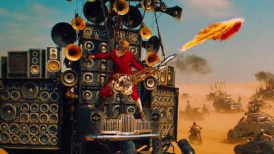 We Talked to the Dude Who Plays a Flame-Throwing Guitar in 'Mad Max: Fury Road'