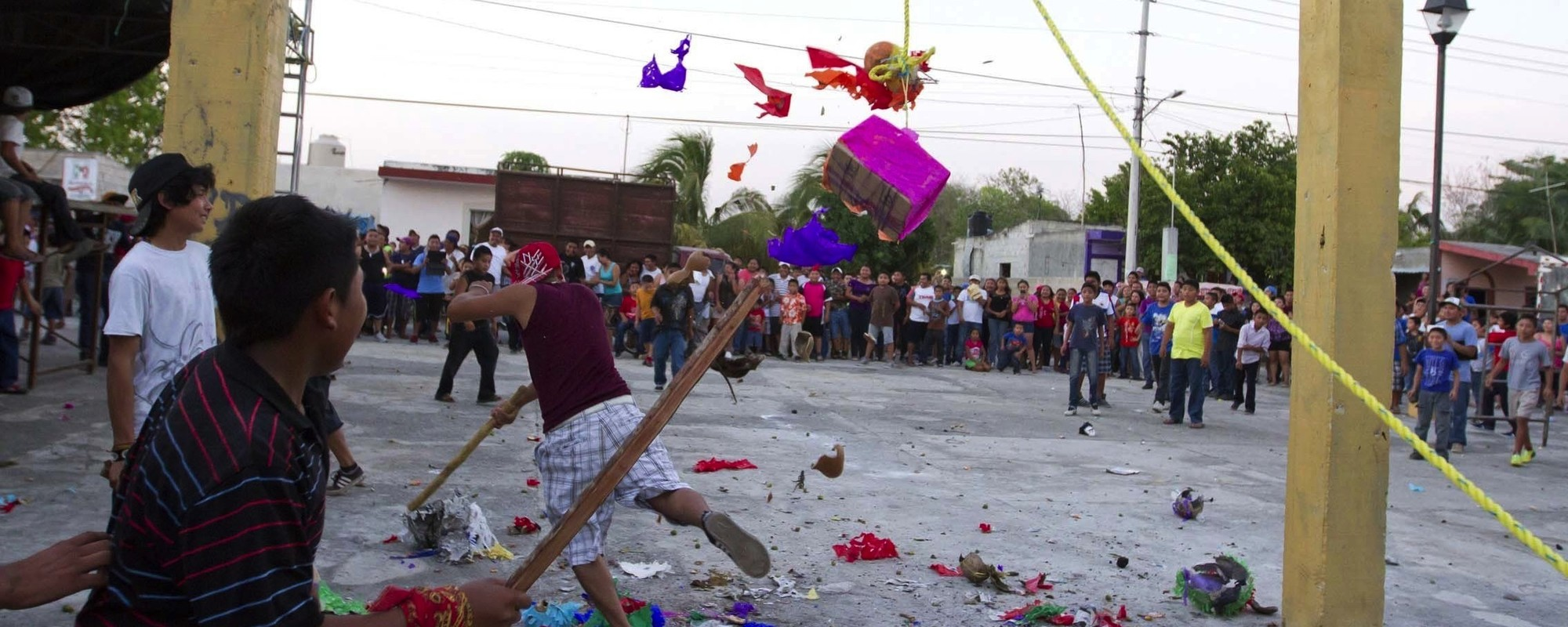 The Mexican Town That Bashes Piñatas Full of Live Animals