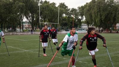 Conoce al equipo de fútbol mexicano formado por mutilados