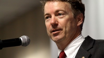 Rand Paul Is Filibustering the Patriot Act Right Now