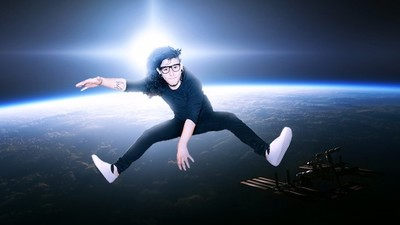 Skrillex Goes to Space