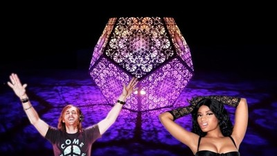 Did David Guetta and Nicki Minaj Rip Off a Burning Man Artist at the Billboard Music Awards?