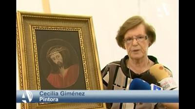 La restauradora del Ecce Homo nos dice cuál es su dibujo favorito de Manuela Carmena
