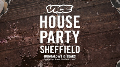 Come To Our House Party in Sheffield on the 5th of June