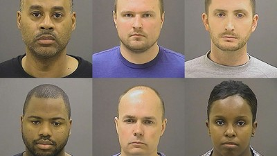 Grand Jury Indicts Six Baltimore Officers Involved in Freddie Gray's Death