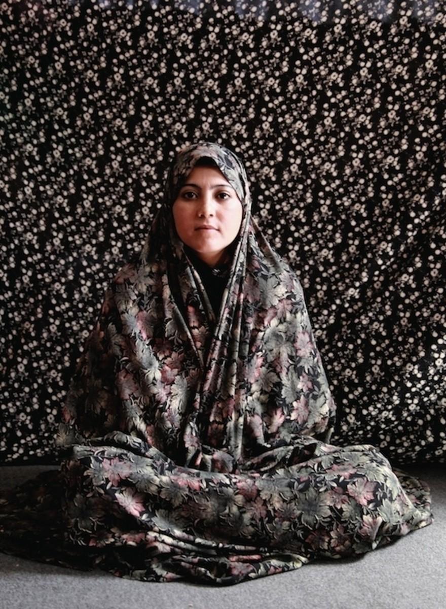 Portretten van Afghaanse vrouwen die vastzitten voor 'morele misdaden'