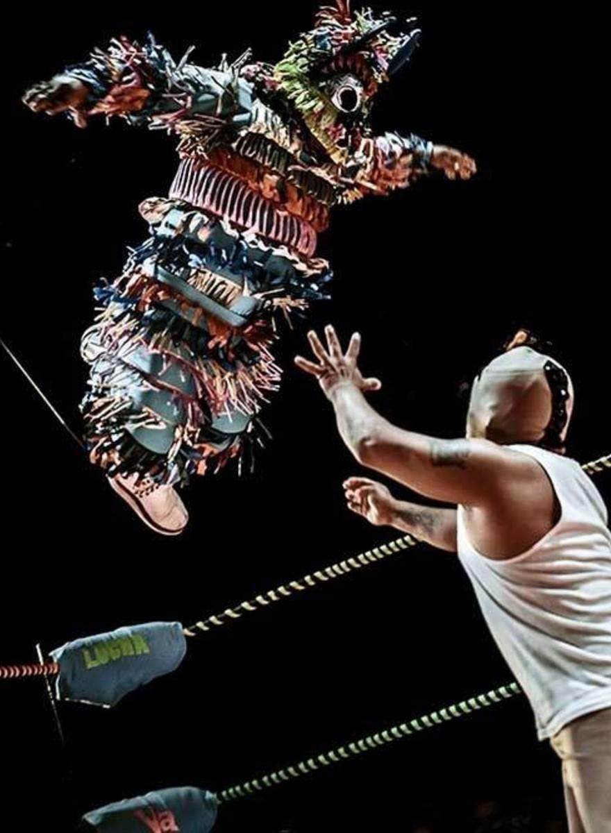 Piñatita: el luchador más chiquito de Los Angeles es de Guadalajara