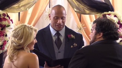 World's Most Charismatic Man The Rock Officiated a Surprise Wedding for His Friend